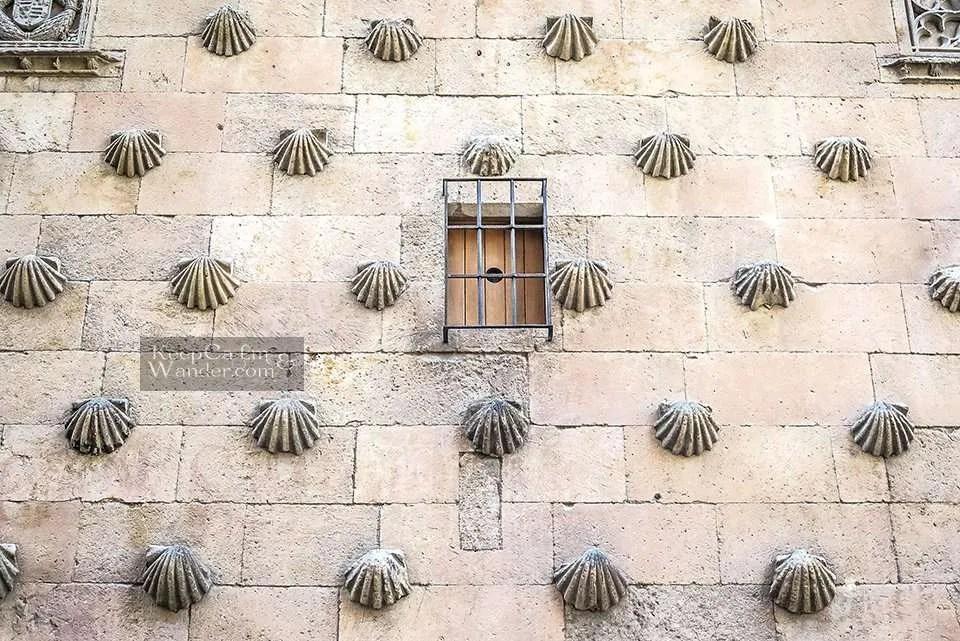 Casa de la Conchas (House of Shells) - One Day in Salamanca (Spain).