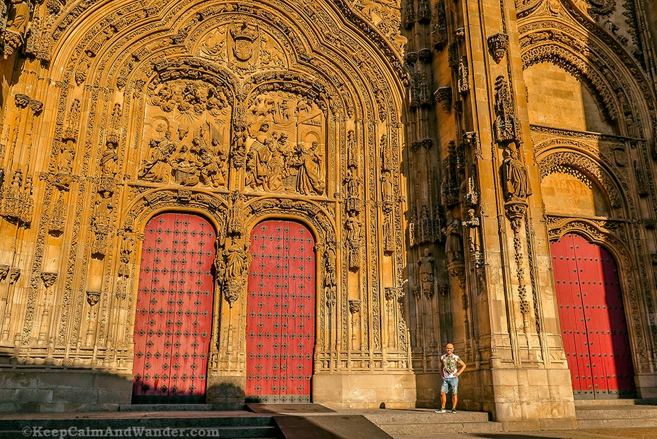 The Old and New Cathedrals - One Day in Salamanca (Spain).