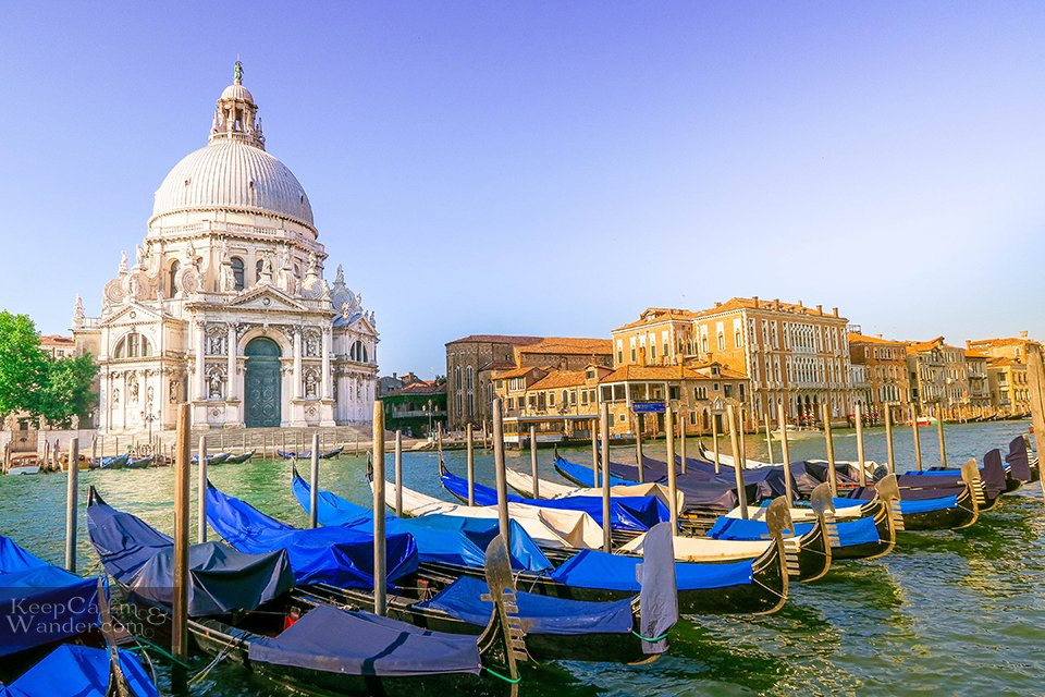 Basilica Santa Maria della Salute - Where 12 Titian Paintings Hang Inside (Venice, Italy).