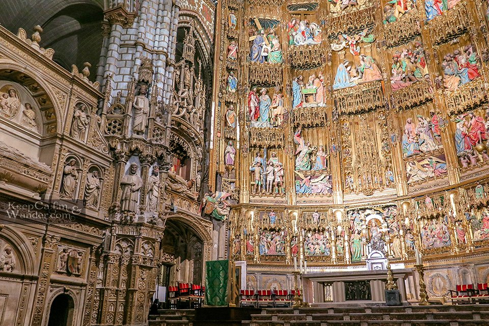 Travel Itinerary: One Day in Toledo (Toledo Cathedral, Spain)