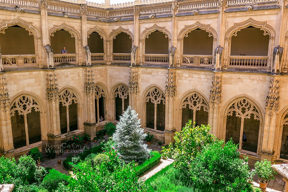 Inside Monasterio San Juan de los Reyes - A Heavenly Refuge in Toledo (Monastery of St. John of the Monarchs, Spain).