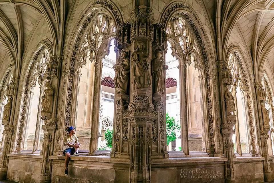 Inside the Monastery of St. John of the Monarchs - A Heavenly Refuge in Toledo (Spain).