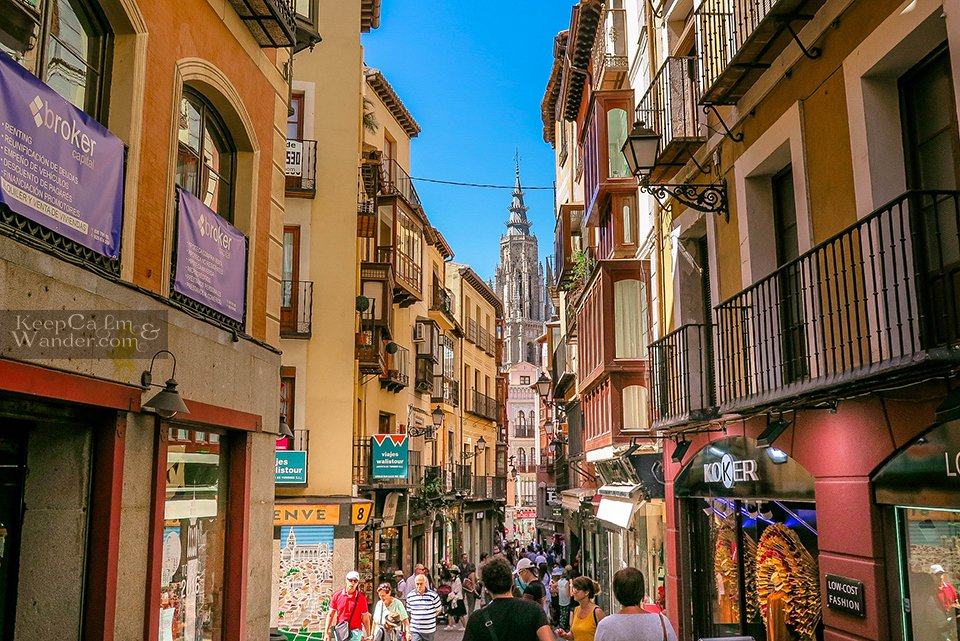 Travel Itinerary: One Day in Toledo (Spain).