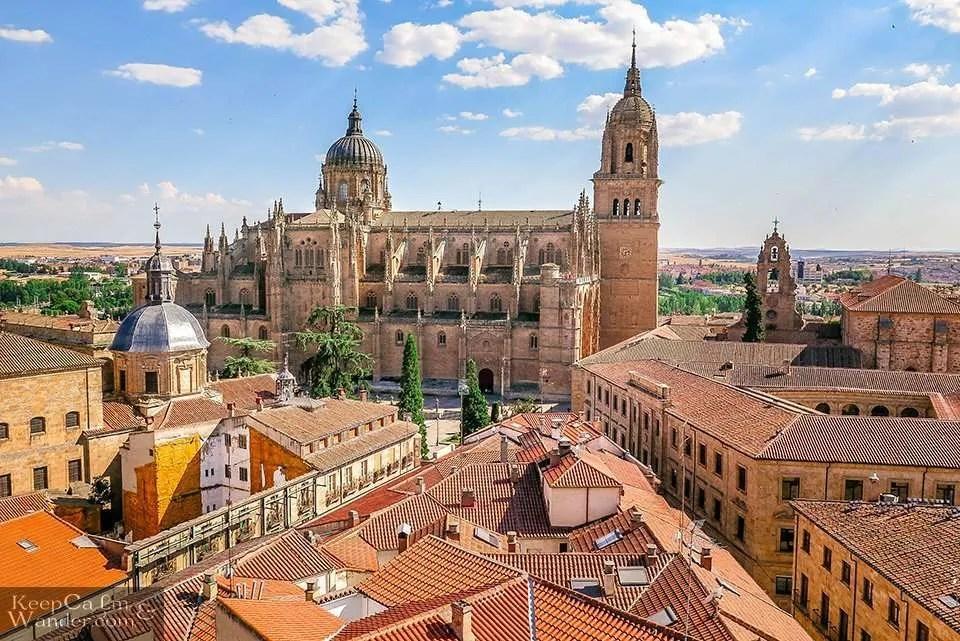 Towers of La Clerecia (Scala Coeli)- One Day in Salamanca (Spain).