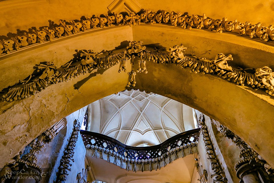 Sedlec Ossuary - The Church With 40,000 Human Bones Inside (Kutna Hora, Czech Republic).