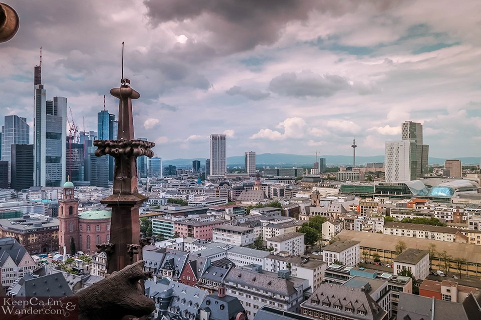 The Views from Frankfurt Cathedral Tower ((Germany). Travel Blog