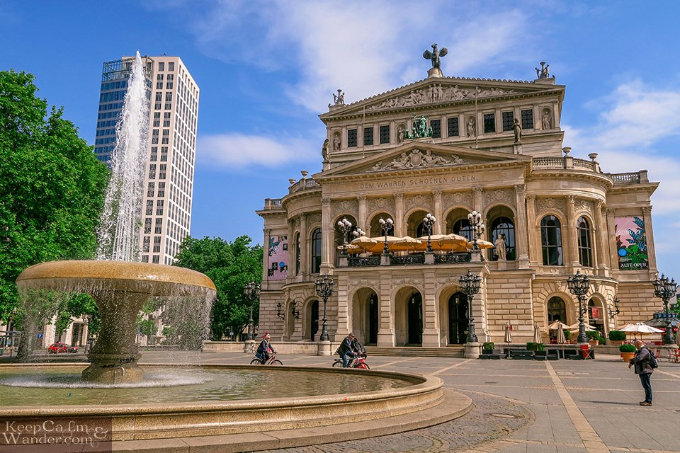 Alte Oper Frankfurt Travel Itinerary: A Day in Frankfurt (Germany).