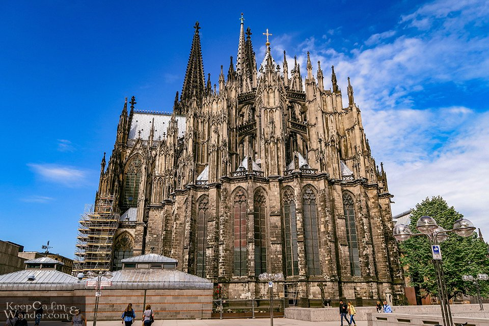 Köln Cathedral is a UNESCO World Heritage Site since 1996.
