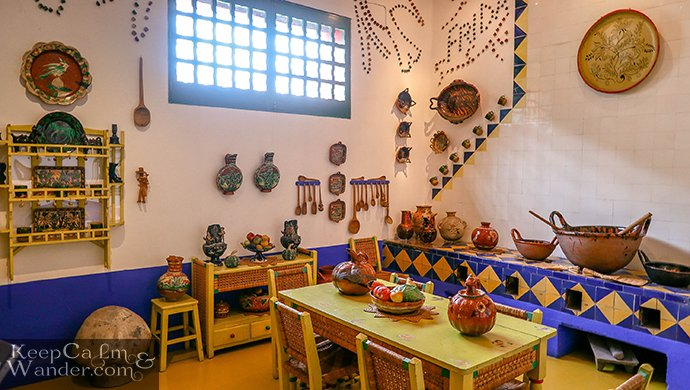 Frida's kitchen Coyoacán La Casa Azul