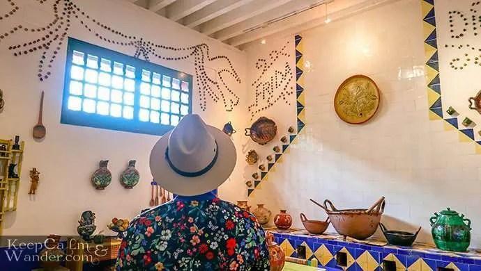 kitchen Frida la Casa Azul Coyoacan