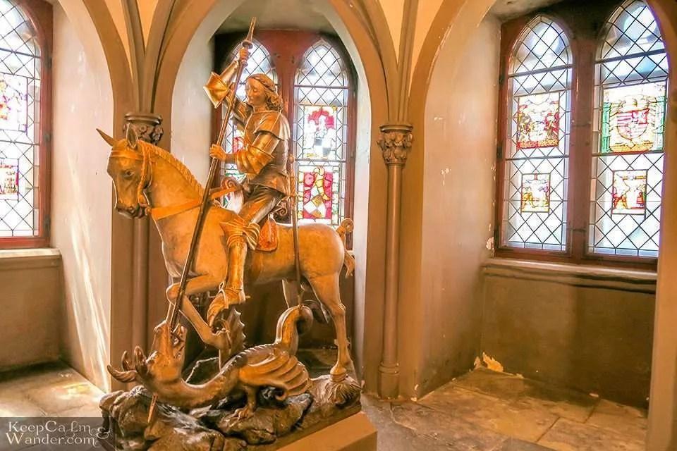 Burg Hohenzollern in Baden-Wurttemberg, Germany.