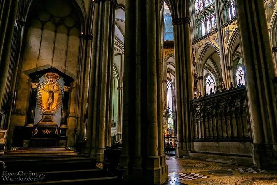 Inside Koln Catedral (Germany).