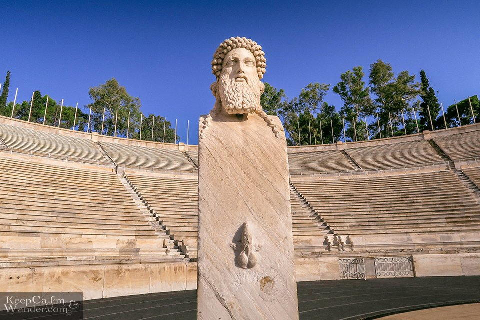 The first modern Olympics Games was held in this stadium. Athens, Greece Travel Blog