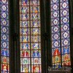 The Colorful Stained Glass Windows Inside Cologne Cathedral