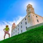 Bratislava Castle – The Castle on the Hill Overlooking the Old Town and Danube River