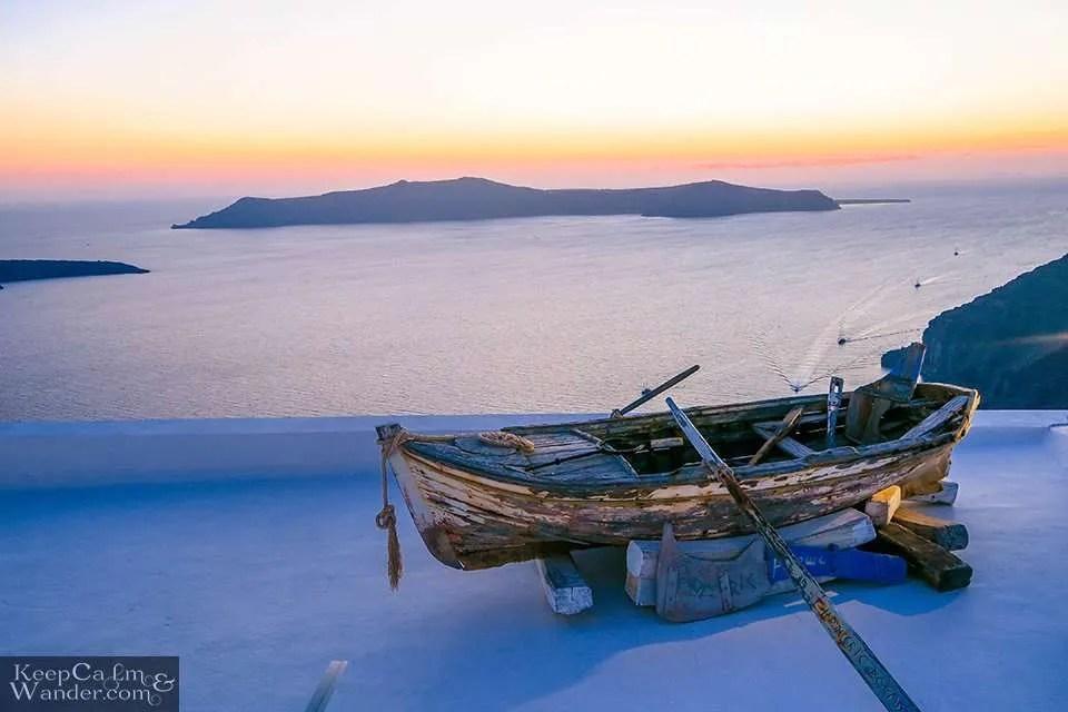 Budget hotel in Santorini