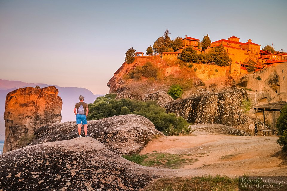 Sunrise at the Great Monastery of Meteoron 9Greece).