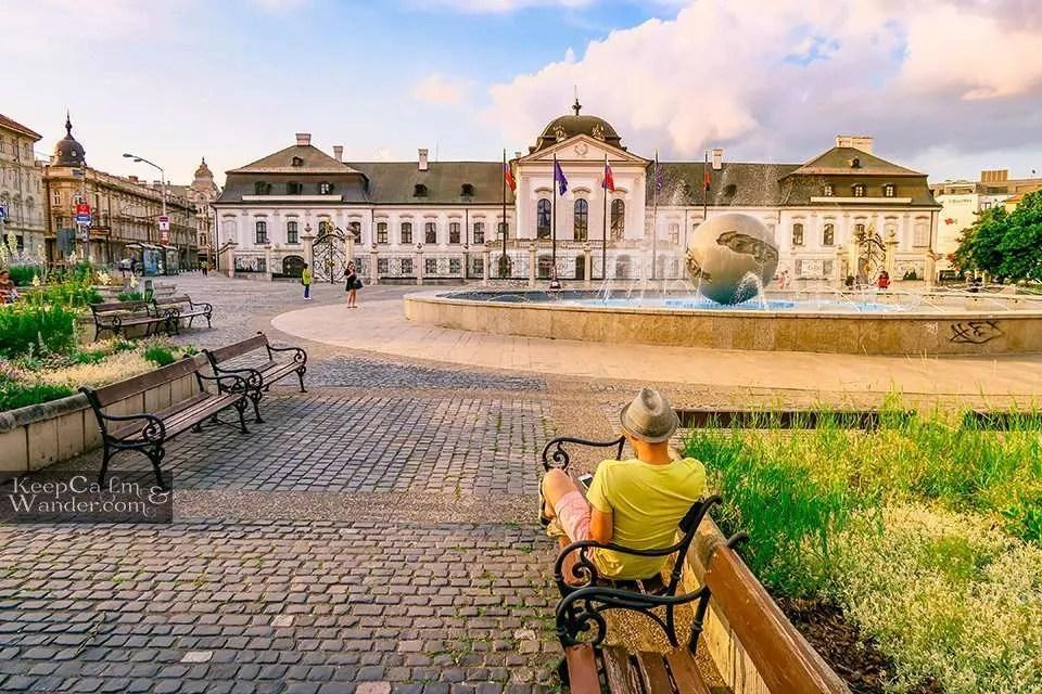 Grassalkovich Palace Slovak Republic Travel Blog Photo Hotel Hostel