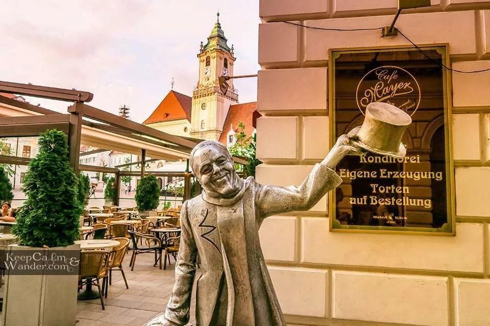 Schone Nach Statue Hotel Hostel Travel Blog Slovak Republic
