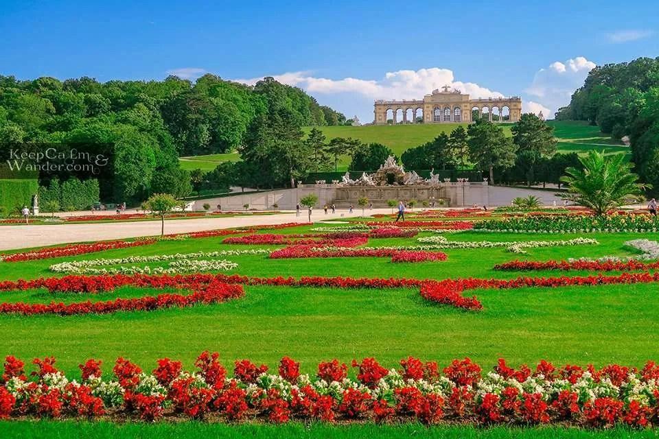 Classical Gloriette Schloss Vienna