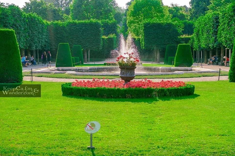 Gardens at Schloss Schönbrun Vienna