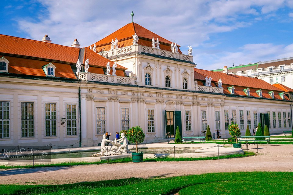 lower belvedere palace austria