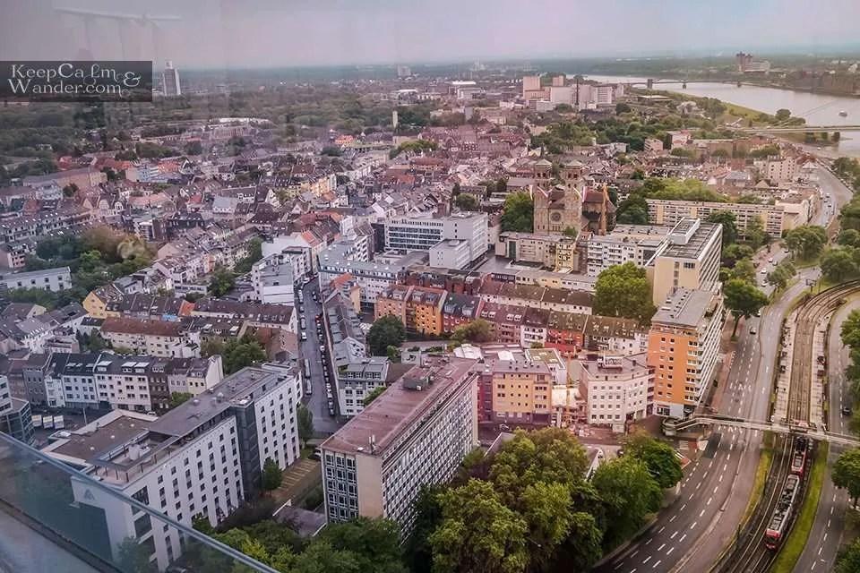 Cologne Panoramic views Travel Blog