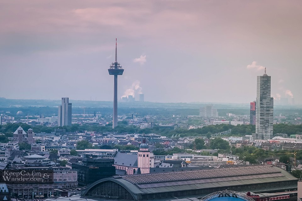 Colonius Tower Cologne Germany Things to Do Travel Blog
