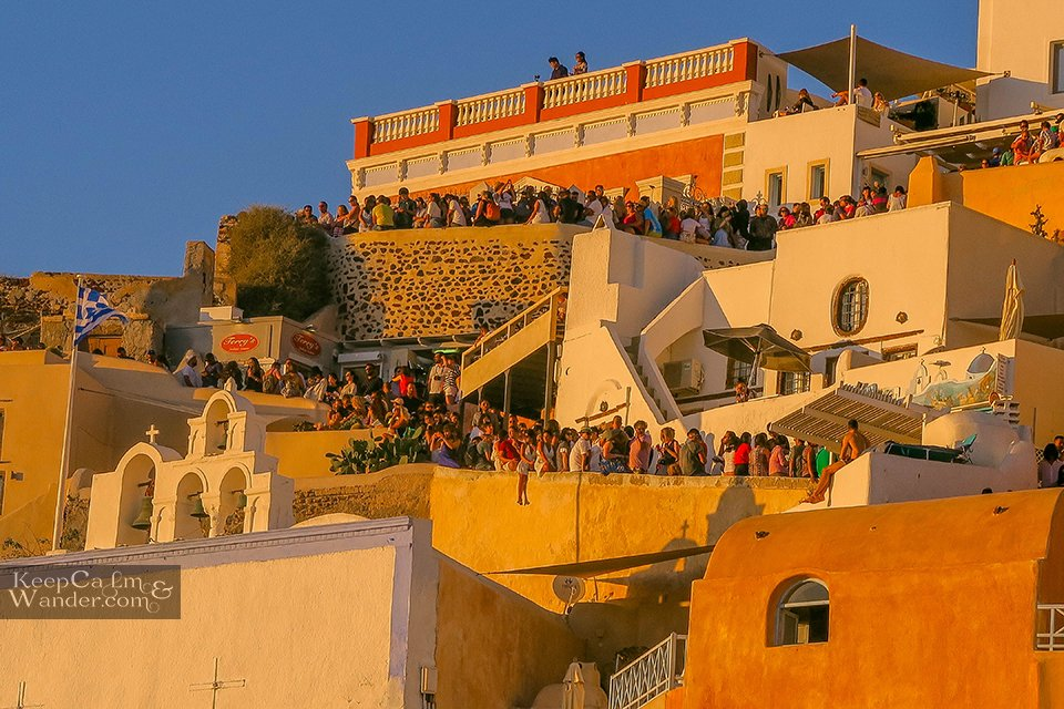 Oia Santorini Sunset Will Give You Chills Greece Travel