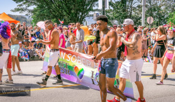 Hot guys pride VanPride Vancity Travel Blog