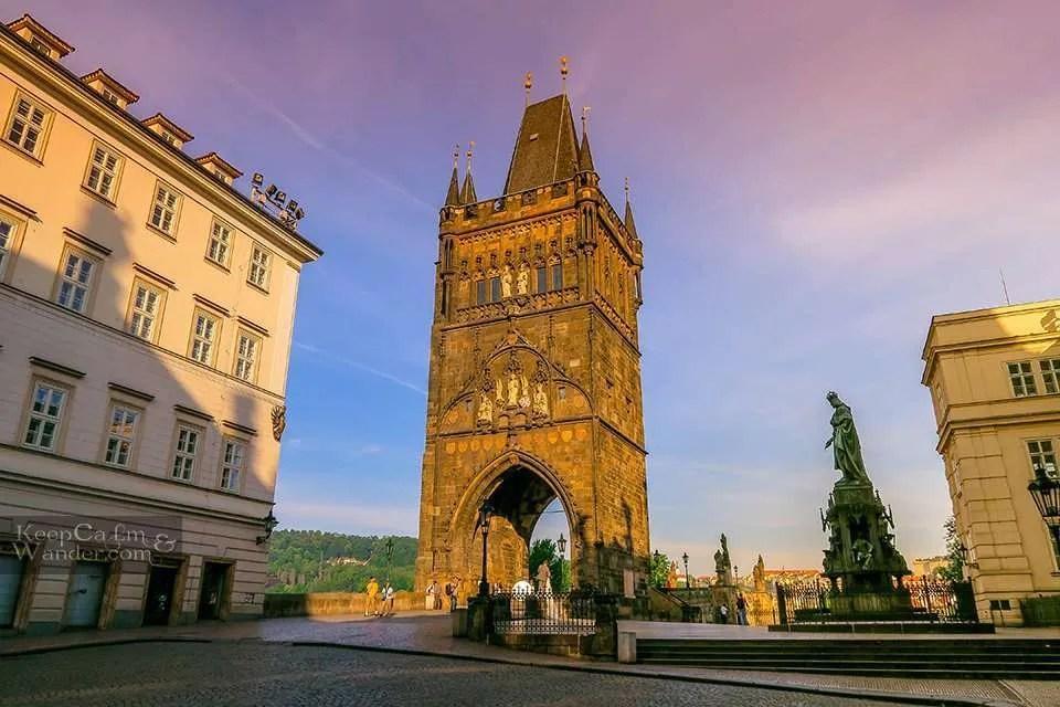 Gothic Tower Prague