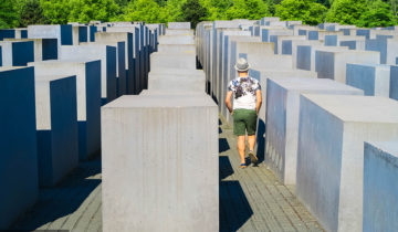 Holocaust Memorial in Berlin Tourist Attraction