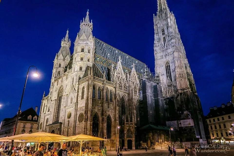 Stephansdom Cathedral in Vienna Austria Travel