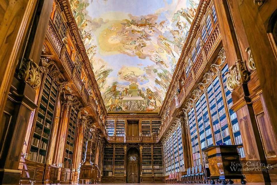 Klementinum Library Strahov Library Prague