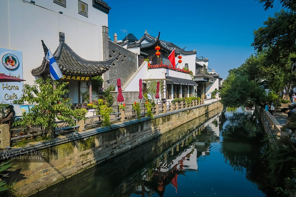 Old suzhou Venice of the east