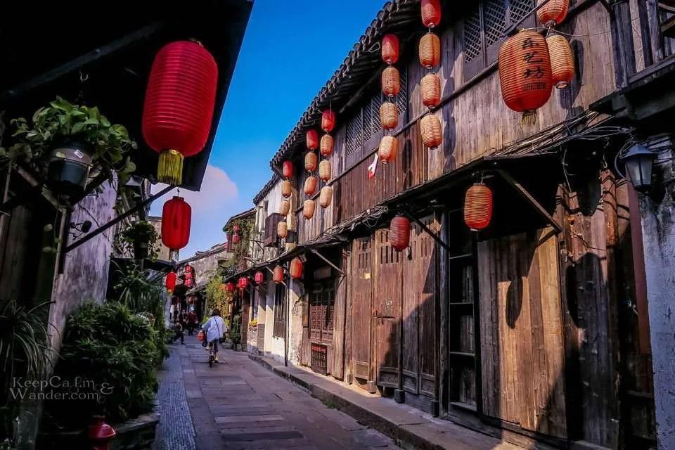How to get to Xitang from Hangzhou China