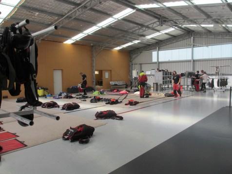 Saut Parachute – Queenstown – Hangar 2