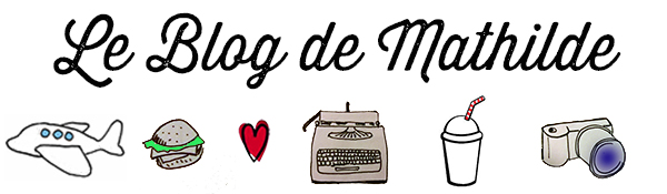 Le blog de mathilde - LOGO