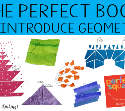 Perfect Square is a Perfect Book to Introduce Geometry