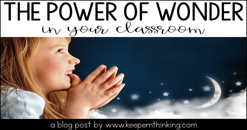 wonder in the classroom