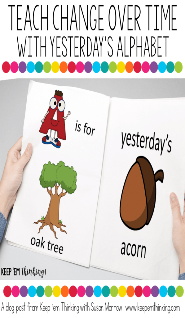 CHANGE OVER TIME WITH YESTERDAY'S ALPHABET