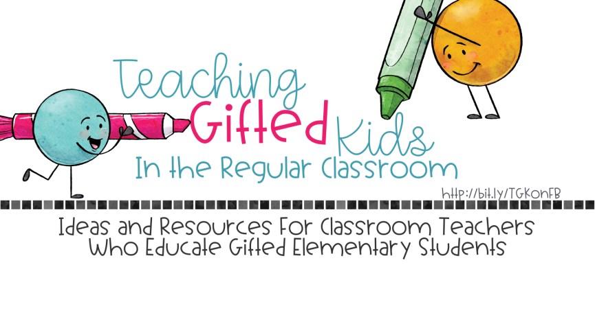 Teaching Gifted Kids Facebook Header