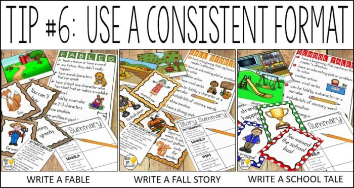 consistency is key for reluctant writers