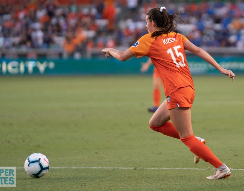 Houston Dash have high expectations for CeCe Kizer