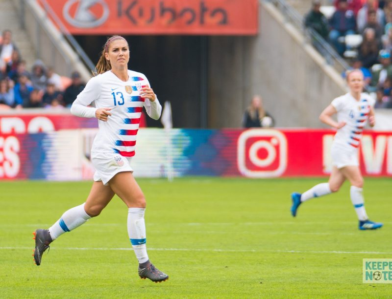 The Keeper's Notes On … USAvAUS 2019 (Morgan's 100th goal)