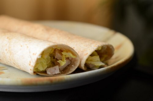 10-Minute Lunches: Turkey Wraps