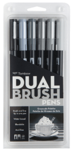 tombow-dual-brush-pen-grayscale