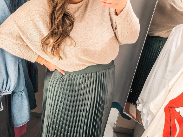 march H&M try on