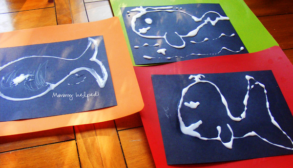 Hard Drawings Whales