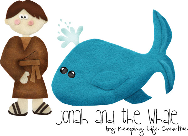photo regarding Printable Felt Board Stories identify Jonah and the Whale Tale Printables - Retaining Everyday living Resourceful